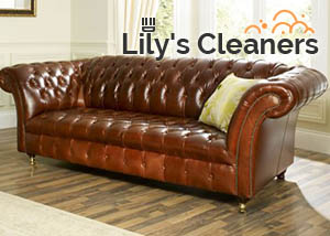 Clean Leather Sofa